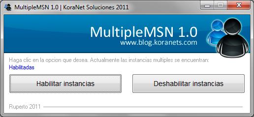 MultipleMSN - Abrir muchos MSN