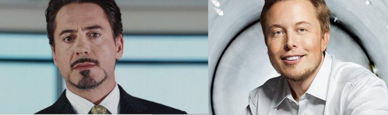 Tony Stark - Elon Musk