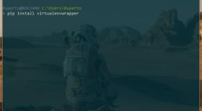 Entornos virtuales con Virtualenvwrapper