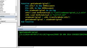 Generar la Cadena Original de un XML (CFDI) en VB6/VBA
